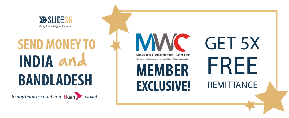banner of SLIDE Offer for MWC Members